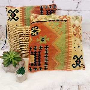Pottery Barn Boho Kilim Pillows